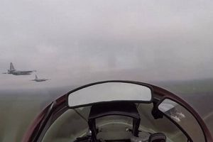 Video không quân Ukraine đã tổ chức tập trận trên biển Azov