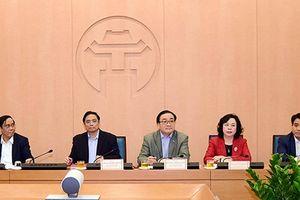 Ban Tổ chức Trung ương làm việc với Ban Thường vụ Thành ủy Hà Nội