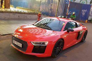 Thiếu gia Phan Thành lượn phố giản dị với Audi 12 tỷ