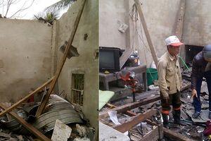 Nổ lớn ở nhà dân tại Hà Tĩnh, 1 người chết, 4 người bị thương