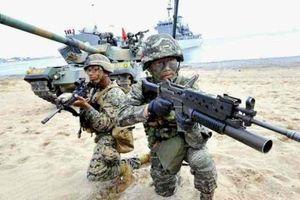 Mỹ - Hàn nhất trí giảm quy mô tập trận chung
