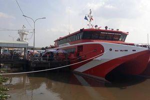 Tàu cao tốc 5 sao 'khủng' hoạt động, Rạch Giá đi Phú Quốc còn 2 giờ