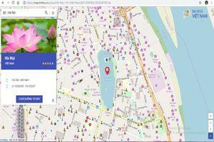 Bản đồ số Việt Nam là nền tảng dữ liệu cơ bản vô cùng quan trọng