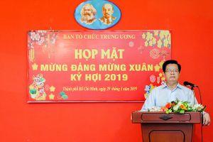 Ban Tổ chức Trung ương họp mặt cán bộ hưu trí khu vực miền Nam dịp Xuân Kỷ Hợi 2019
