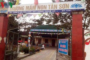 Nguyên nhân bé trai 3 tuổi tử vong tại sân trường mầm non ở Nghệ An