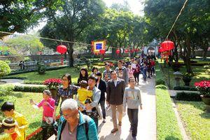 Khách du lịch đến Hà Nội tăng mạnh trong tháng 1-2019