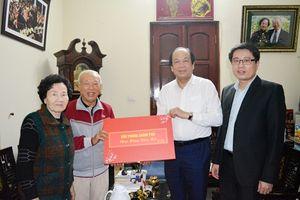 Bộ trưởng, Chủ nhiệm VPCP thăm, chúc Tết nguyên lãnh đạo Đảng, Nhà nước