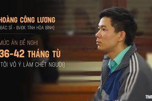 Chiều nay, tòa tuyên án vụ bác sĩ Hoàng Công Lương