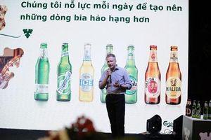 Chuyên gia ủ bia Carlsberg: 'Không ngừng cải tiến để khẳng định chất lượng'