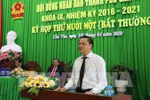 Ông Dương Tấn Hiển được bầu chức Phó Chủ tịch UBND Tp. Cần Thơ
