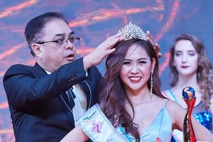 Người đẹp doanh nhân Khánh Hòa đăng quang Á hậu 2 của 'Hoa hậu các quốc gia 2019'