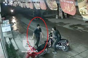Hình ảnh nhận diện nghi can cứa cổ lái xe taxi ở SVĐ Mỹ Đình
