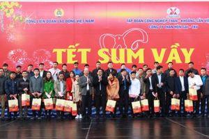 Trưởng Ban Tổ chức Trung ương dự lễ tiễn công nhân về quê ăn Tết