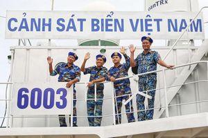 Đón Tết trên tàu Cảnh sát biển