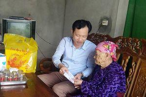 Trao quà gia đình chính sách, hỗ trợ người nghèo đón Tết ở các địa phương