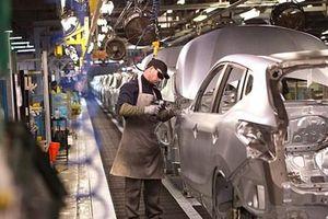 Sản lượng ôtô tại nước Anh giảm mạnh nhất kể từ năm 2008-2009