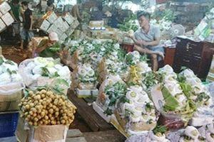 Siết chặt quản lý các mặt hàng từ chợ đầu mối