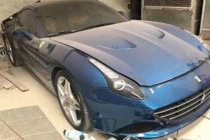 Sát Tết, siêu xe Ferrari 13,5 tỷ vẫn bị 'bỏ xó' ở Hải Phòng