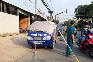 Người đàn ông chết gục trên xe ba gác ngày 28 Tết