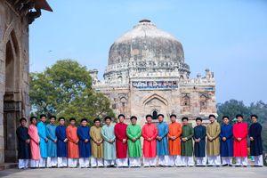 Ấn tượng áo dài Việt trong tết Việt tại Ấn Độ