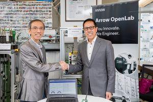 Arrow Electronics phát triển thiết bị IoT nâng cao an toàn thang máy tại Hồng Kông