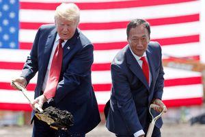 Căng thẳng Mỹ-Trung có khiến Foxconn tháo chạy khỏi dự án sản xuất màn hình trị giá 20 tỷ USD?