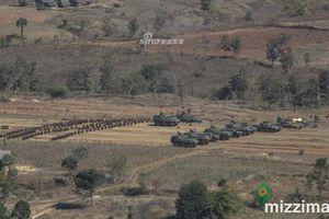 Hình ảnh cuộc tập trận cực lớn của Quân đội Myanmar - Con hổ mới của ASEAN
