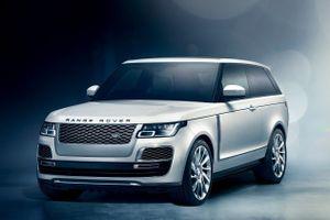 SUV 2 cửa siêu sang Range Rover SV Coupe bị khai tử