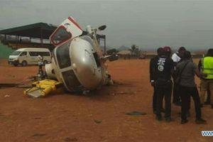 Phó Tổng thống Nigeria thoát nạn trong sự cố máy bay trực thăng