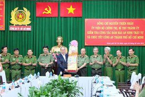 Bí thư Thành ủy TP Hồ Chí Minh chúc Tết các đơn vị