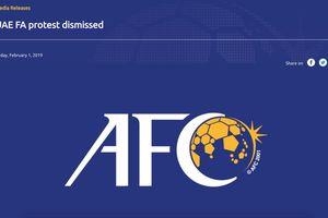 AFC bác cáo buộc của UAE về việc cầu thủ Qatar gian lận