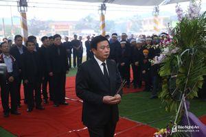 Trọng thể Lễ viếng, an táng đồng chí Nguyễn Đức Bình tại quê nhà