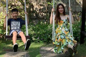 Sao Việt ngày 30 Tết: Người vội về quê, người du lịch bên gia đình