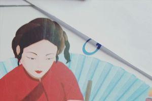 Phác thảo chân dung nữ sĩ Hồ Xuân Hương