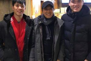 Tin tối (4.2): Đình Trọng và Xuân Hưng đón khách quý ở Hàn Quốc