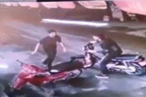 Bắt được đối tượng cứa cổ, cướp taxi tại sân vận động Mỹ Đình