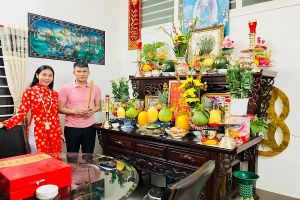 Đón xuân Kỷ Hợi cùng gia đình nghệ sĩ Việt