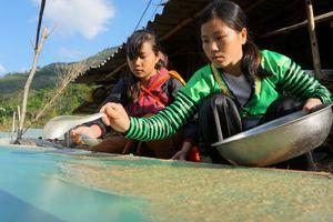 Người Mông làm giấy bản linh thiêng đón năm mới