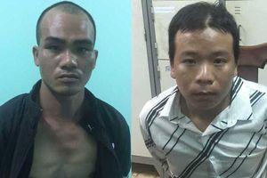 Bắt hai kẻ côn đồ khống chế nữ công nhân, cướp xe máy ở Long An