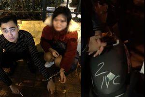 Bạn trai bị bắt vì tàng trữ ma túy, cô gái trẻ òa khóc