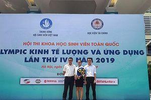 Sinh viên Trường Đại học Bà Rịa – Vũng Tàu đoạt giải thưởng cuộc thi quốc gia