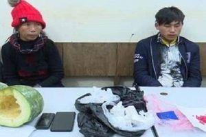 Sơn La: Bắt quả tang cặp đôi giấu ma túy trong quả bí xanh