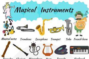Từ vựng tiếng Anh về các loại nhạc cụ