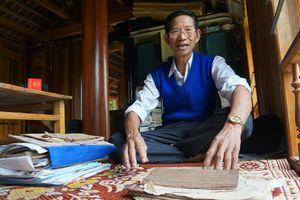 Người nặng lòng với chữ Thái ở xứ Thanh