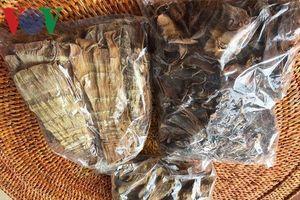 Thơm ngon măng khô của người Thái ở Sơn La