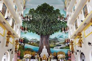 Ngôi chùa có bức phù điêu cây bồ đề nổi lớn nhất Việt Nam ở Sài Gòn
