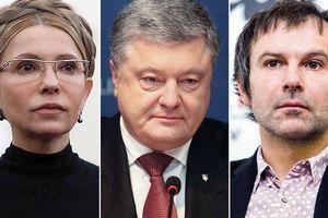 Kỷ lục số lượng ứng cử viên tranh cử Tổng thống Ukraine