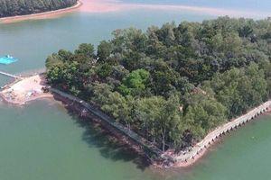Du xuân đầu năm nhớ ghé thăm Đảo Ó - Đồng Trường giữa hồ Trị An