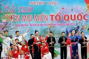 Ngày hội 'Sắc Xuân trên mọi miền Tổ quốc': Phong vị Tết truyền thống các dân tộc Việt Nam