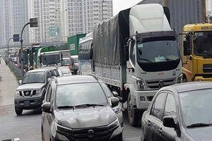 Nhiều tuyến đường cửa ngõ Thủ đô Hà Nội ùn tắc sau kỳ nghỉ Tết